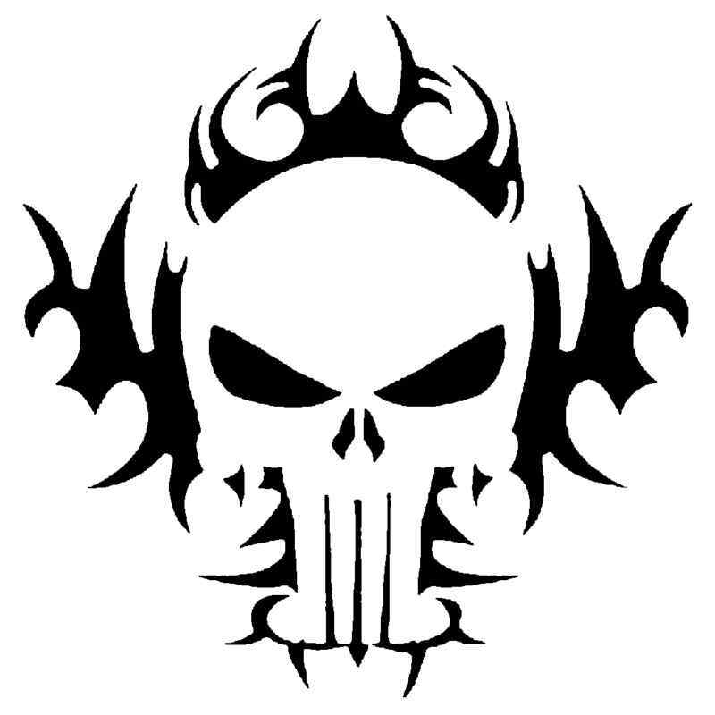 tribal skull stencil for airbrush tattoo craft art ebay UPS Shipping Clip Art Shipping and Receiving Clip Art