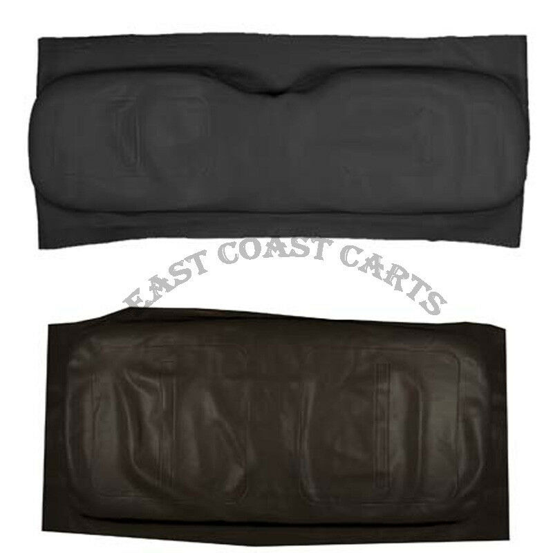 Ezgo Golf Cart Black Vinyl Seatcover Set 1994 Up Txt St