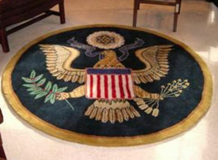 White House Great Seal Presidential Rug - Great Gift! Brand New | eBay