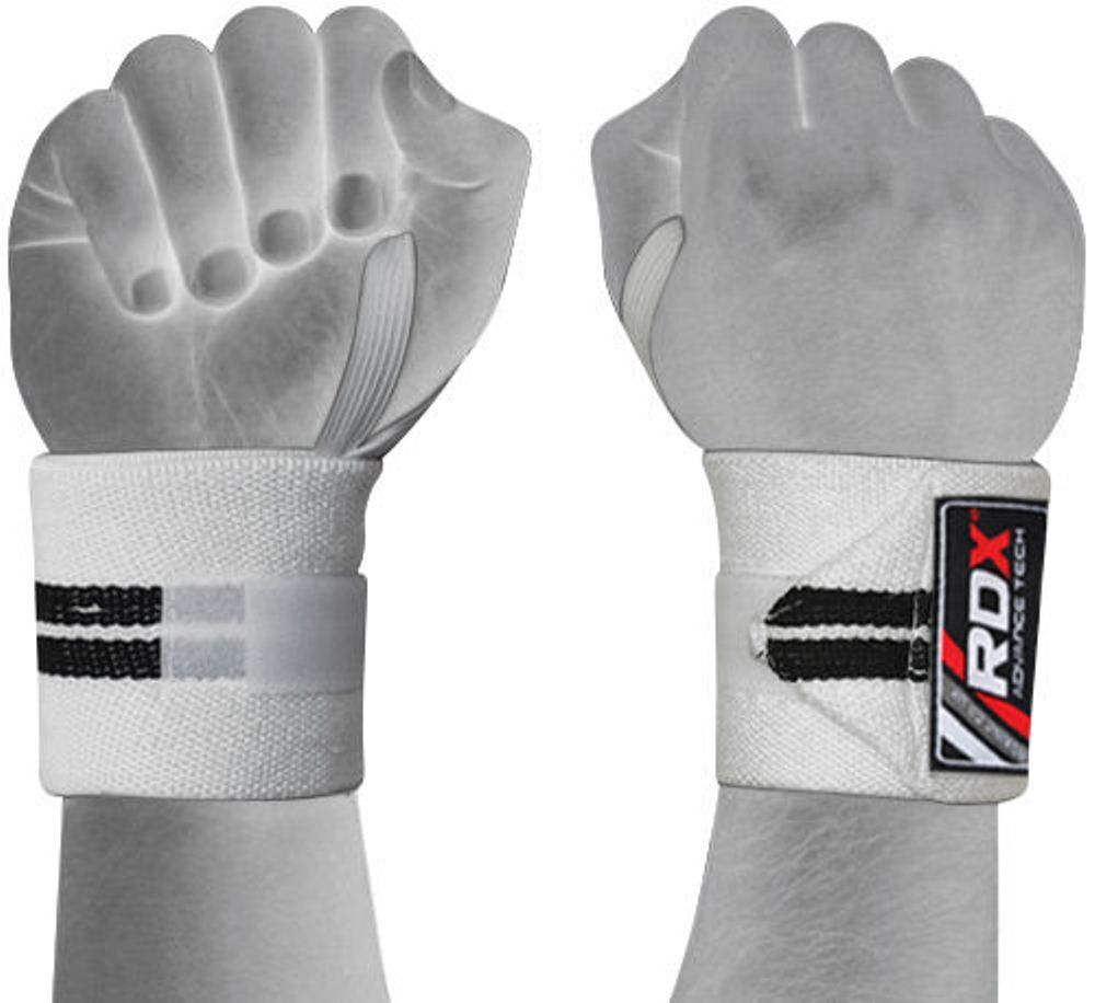 Rdx Weight Lifting Gloves Training Bodybuilding Gym Power: RDX Wrist Weight Lifting Training Gym Straps Support Grip