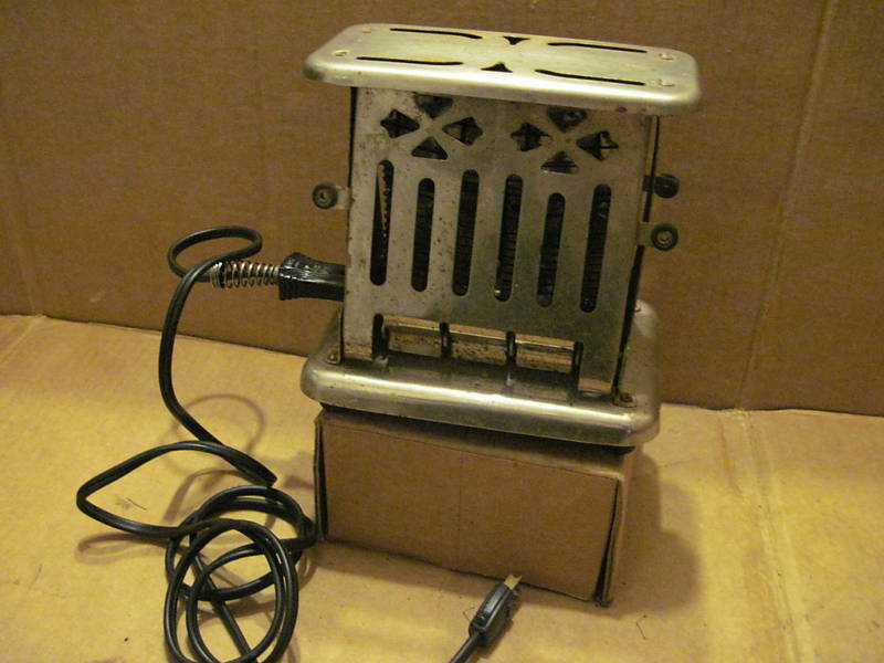 Antique Electric Toasters ~ Vintage toaster electric works w cord ebay