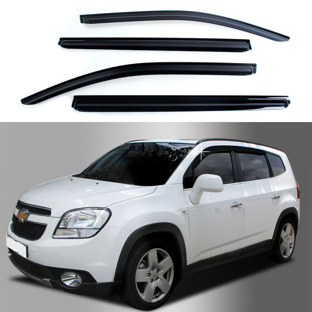 sun shade rain window vent visor 10  chevrolet orlando