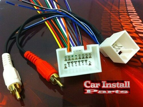 radio wire harness w mach 460 amp premium stereo 98 03 this is rap feature harness will not work