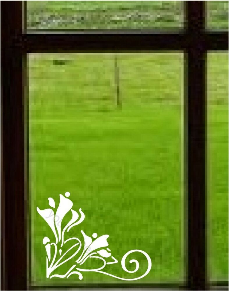 Scroll Vinyl Wall Window Stickers Decal Border Decor Ebay