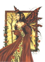 Amy Brown's Queen Mab Fairy Art Postcard 2001 MINT NEW