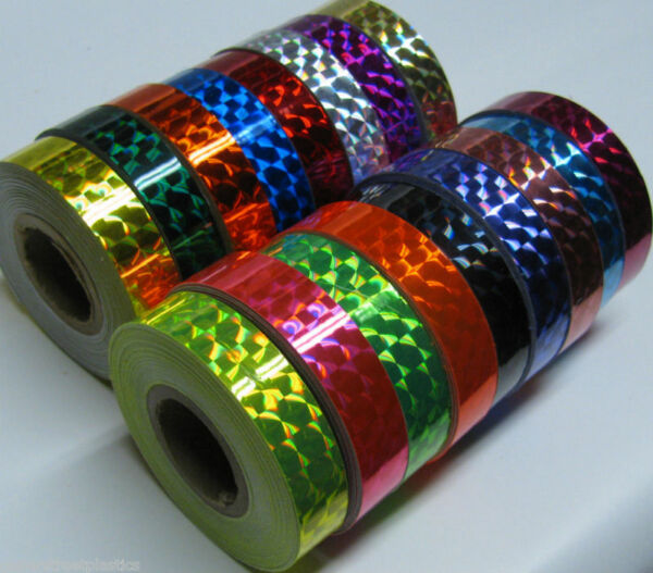 Prism Tape,  Choose your Colors and Sizes. Holographic 1/4
