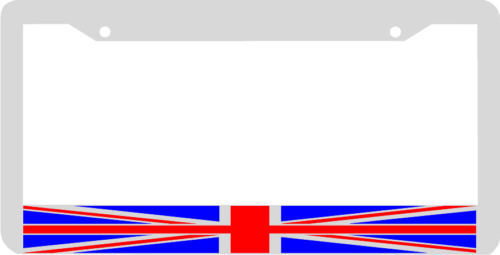 British England Great Britain Flag License Plate Frame Ebay