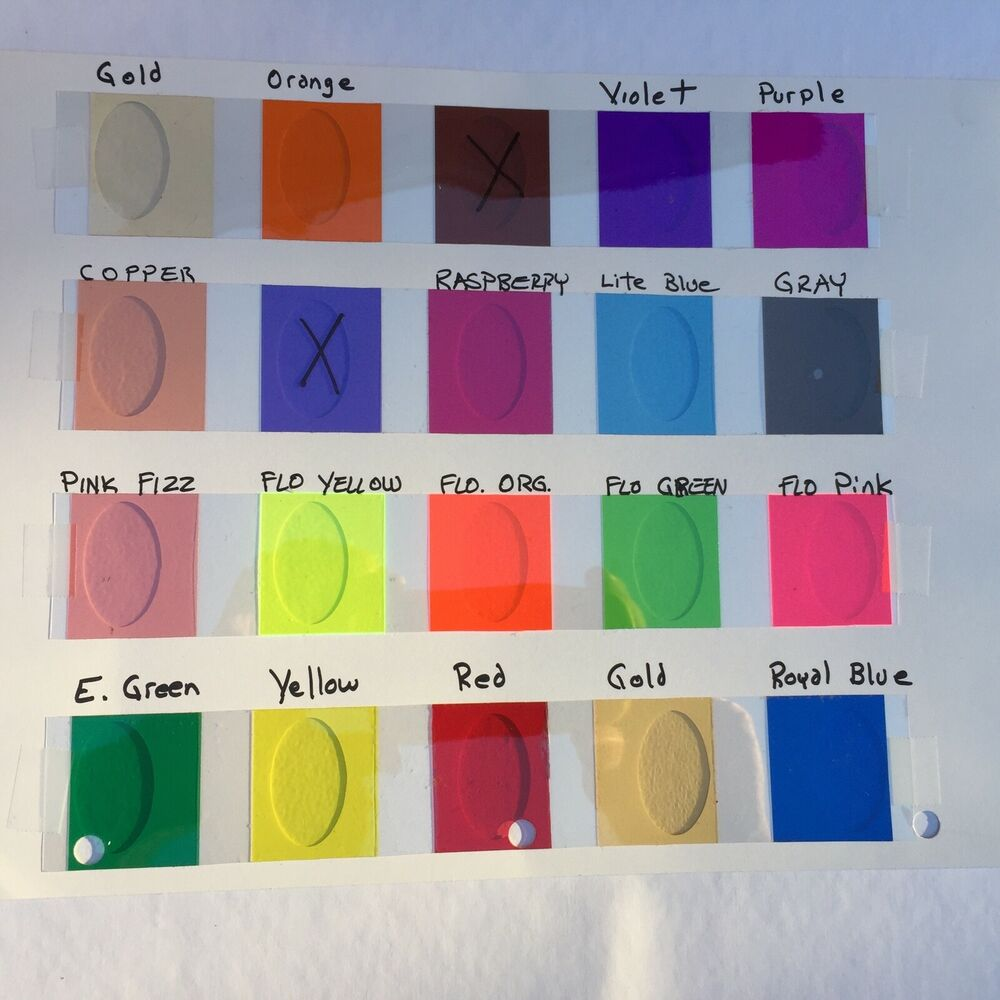 Transparent Vinyl Tape Choose Your Color And Size