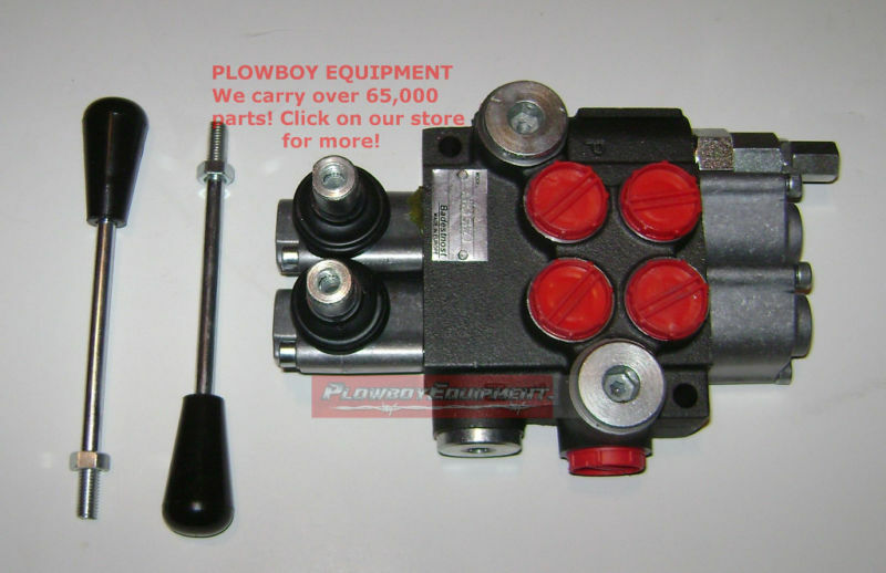 Hydraulic Monoblock Spool Valve For Massey Ferguson