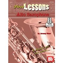 First Lessons Alto Saxophone (Book + Online Audio) by Jeremy Viner