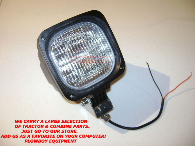 John Deere Hid Lights : Wl e hid light work lamp flood w for farmall case ih