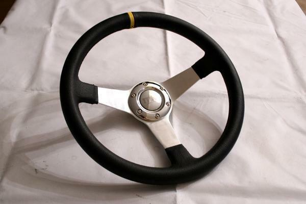 mk1 deep dish drfit steering wheel ae86 corolla levin ebay. Black Bedroom Furniture Sets. Home Design Ideas