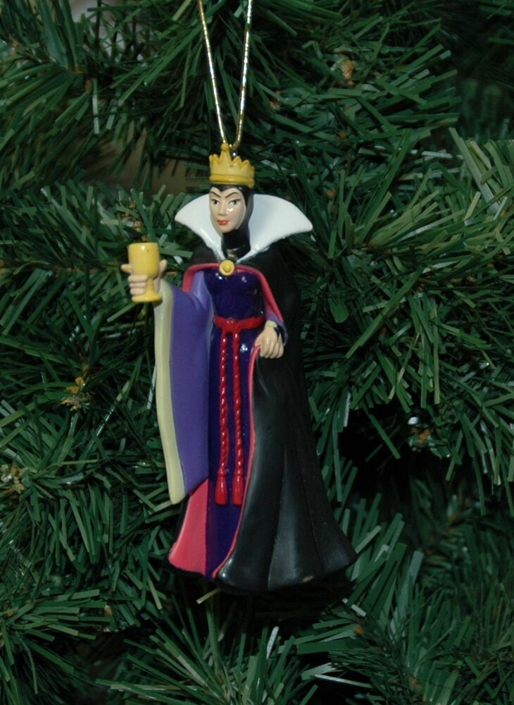 Snow White, The Wicked Queen Christmas Ornament  Ebay-1689