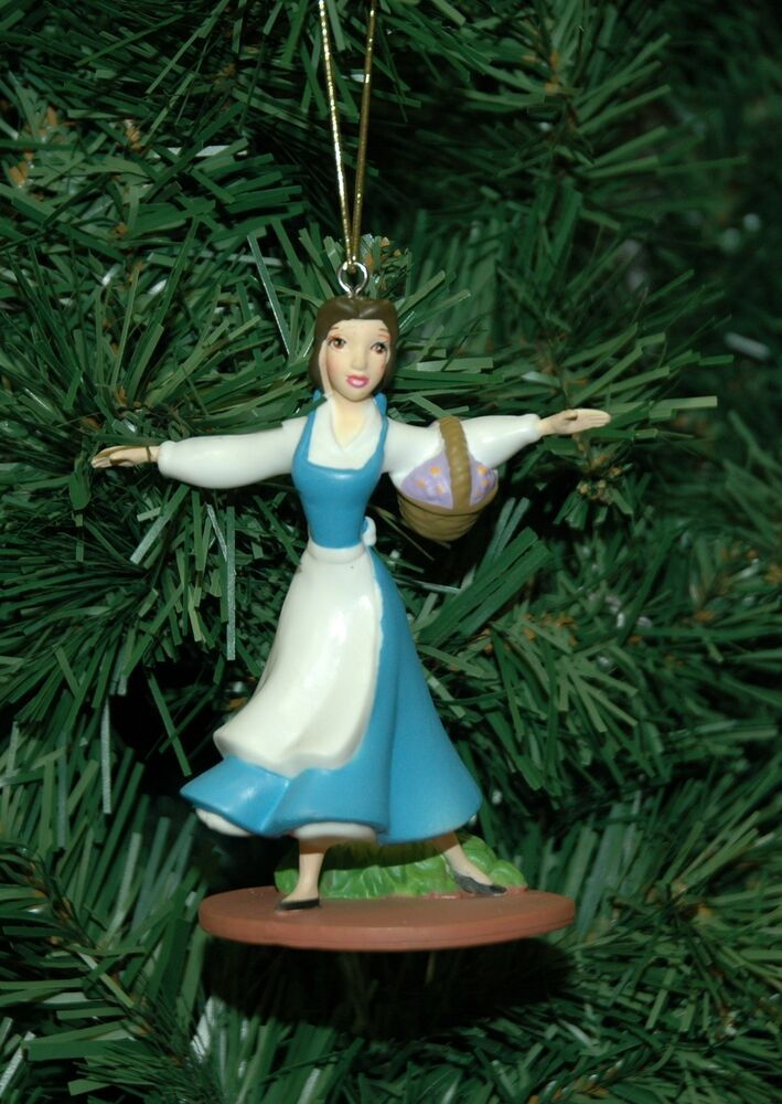 Beauty and the beast belle christmas ornament ebay