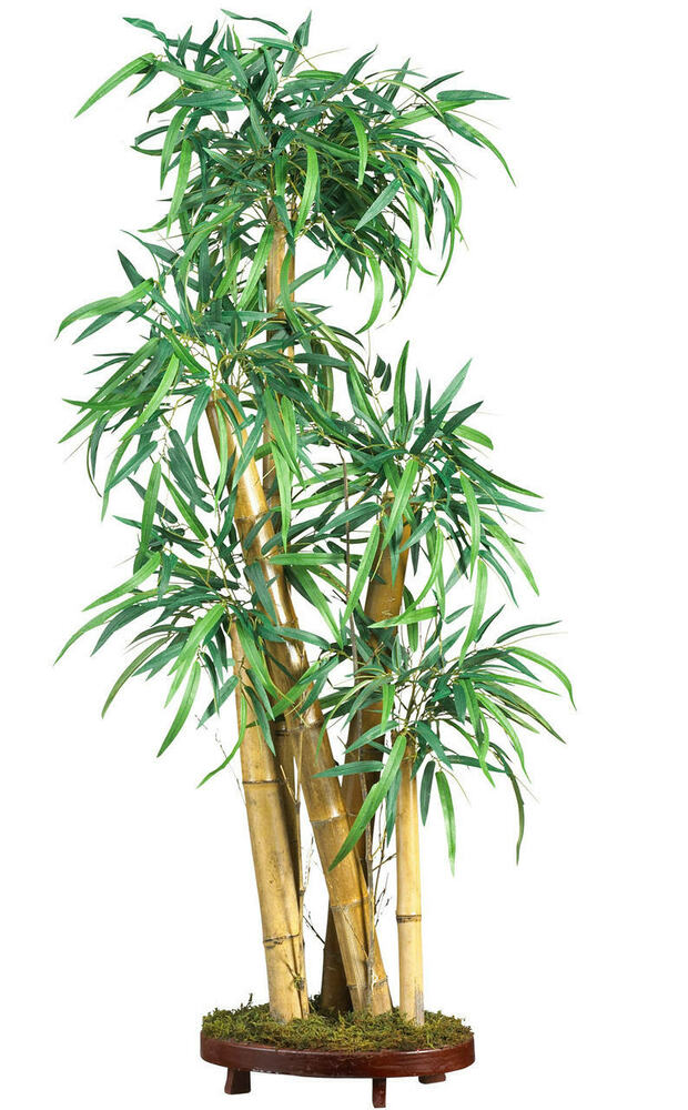 Large 42 chinese silk bamboo realistic fake artificial for Faux bambou plante