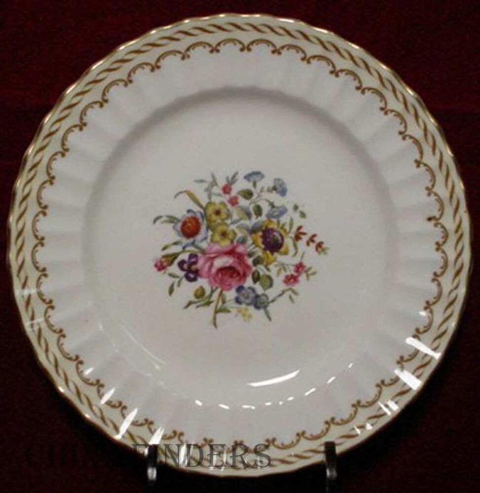 Royal Worcester China Kempsey Z1962 Pattern Bread Plate Ebay