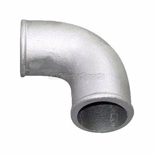 Quot cast aluminum degree elbow pipe turbo outlet