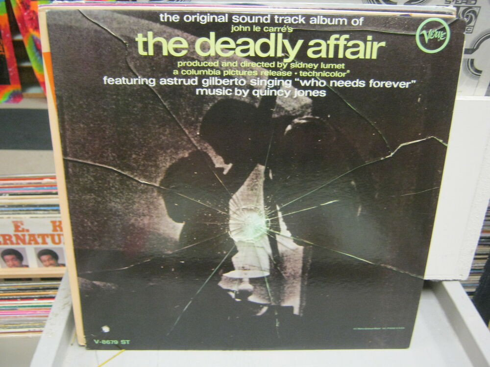 Astrud Gilberto Quincy Jones Who Needs Forever The Deadly Affair Instrumental Main Theme 3