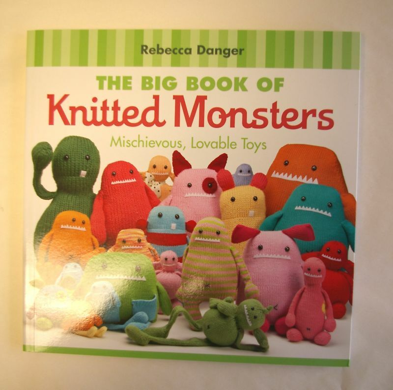 Big Book of Knitted Monsters Book Toys 20 Patterns eBay