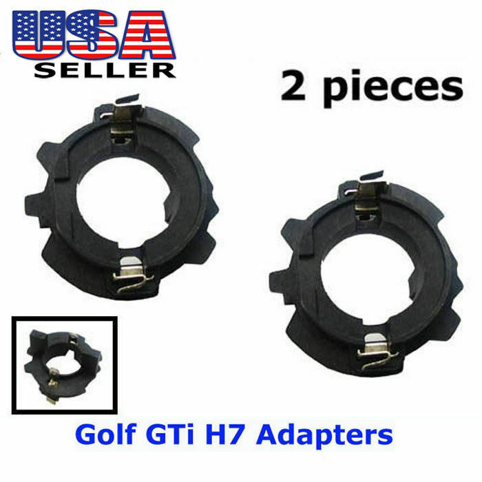 h7 hid xenon bulb adapters holders for volkswagen mk5 gti. Black Bedroom Furniture Sets. Home Design Ideas