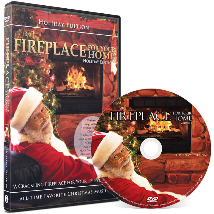 Fireplace For Your Home DVD: Holiday Yule Log Edition - with ...