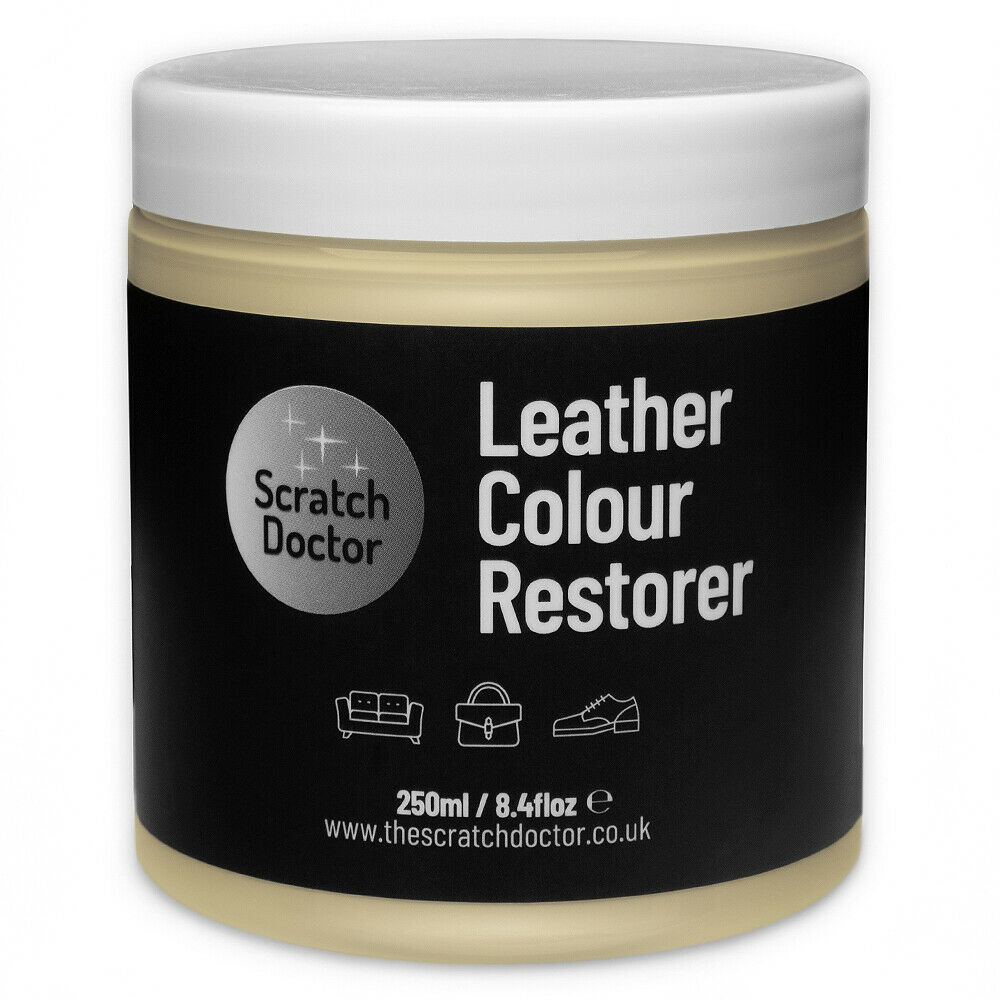 cream leather dye colour restorer for bmw leather car interiors seats ebay. Black Bedroom Furniture Sets. Home Design Ideas
