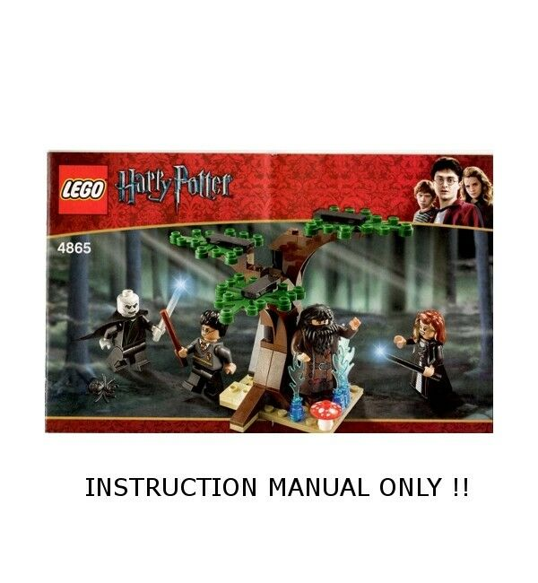lego harry potter forbidden forest instructions