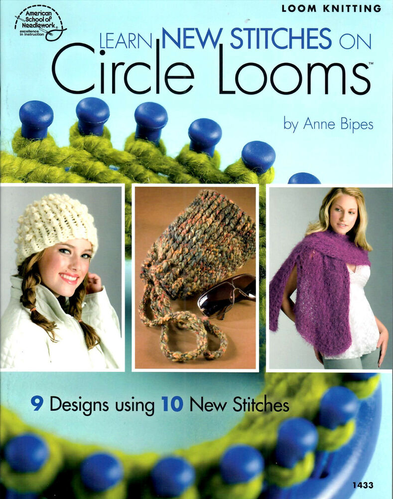 LOOM PATTERN BOOK! LEARN NEW STITCHES FOR CIRCLE LOOMS! TEN NEW LOOM TECHNIQU...