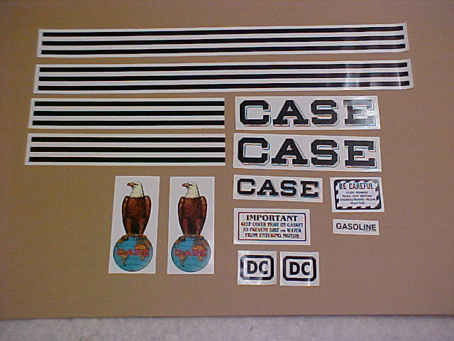 Case Tractor Decal Sets : Case dc decal set complete and new ebay