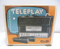CONSOLE C & G Electronic T.V.G. TELEPLAY (Paddle Variant) VINTAGE