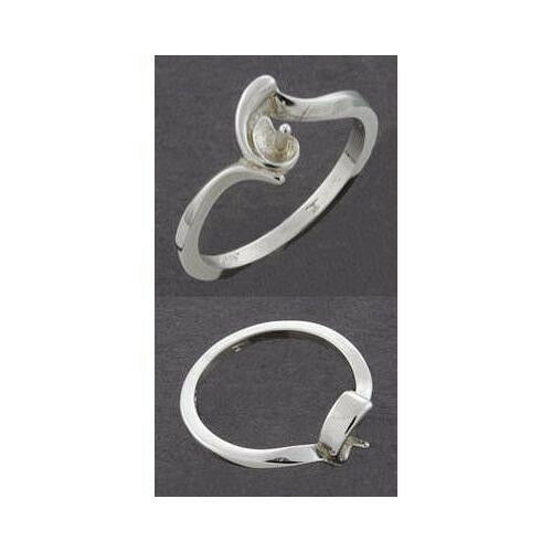 4mm 8mm pearl sterling 925 ring setting ring sizes 5. Black Bedroom Furniture Sets. Home Design Ideas