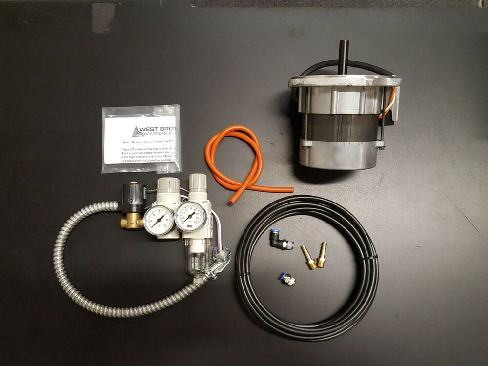 Waste Oil Heater Parts Omni Reznor Shop Air Supply Kit