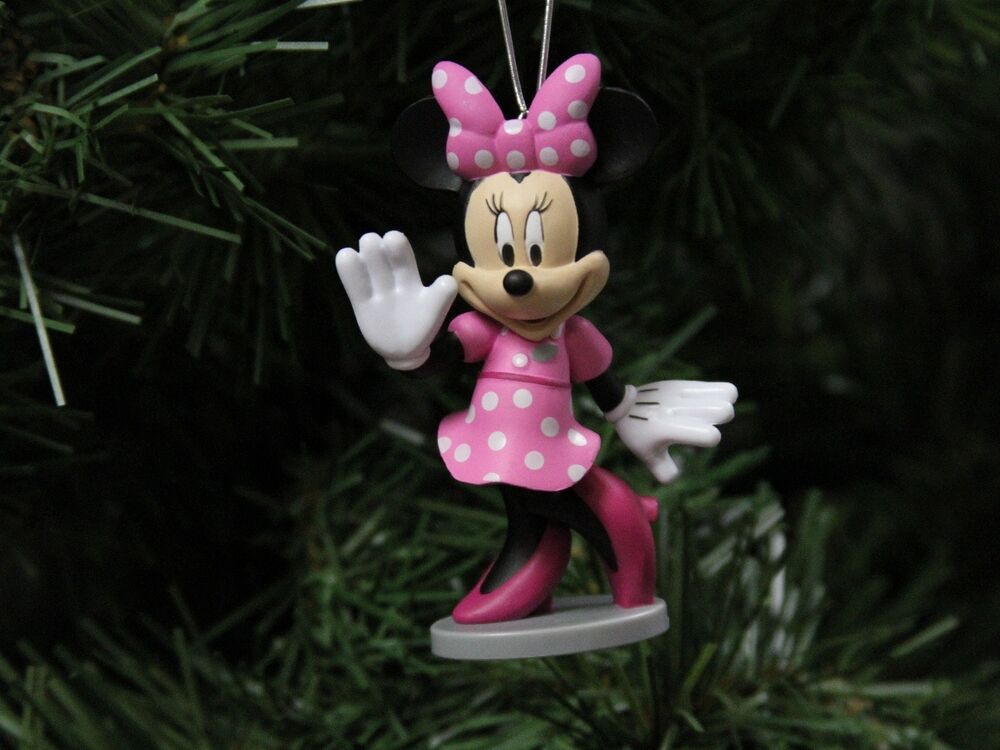 Minnie mouse business woman disney christmas ornament ebay - Minnie mouse noel ...