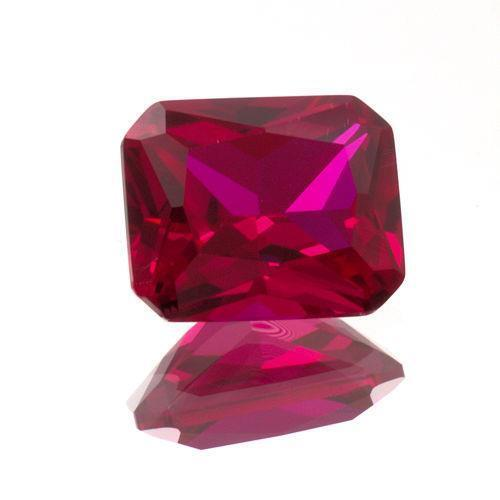 5x3mm 20x15mm lab created ruby emerald shape ebay. Black Bedroom Furniture Sets. Home Design Ideas