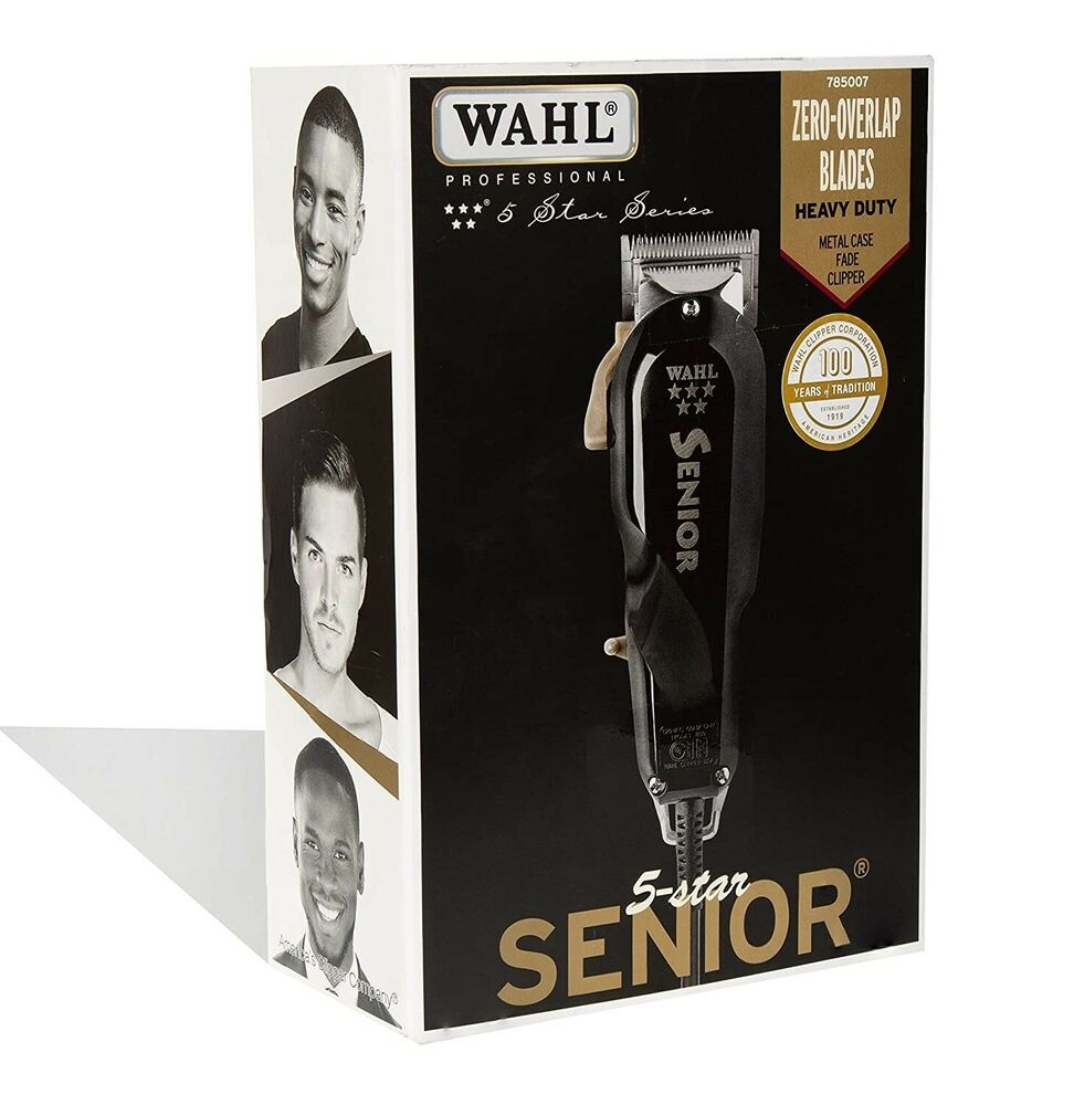 New Wahl Senior Clipper Professional Barber 91340 100 Ebay