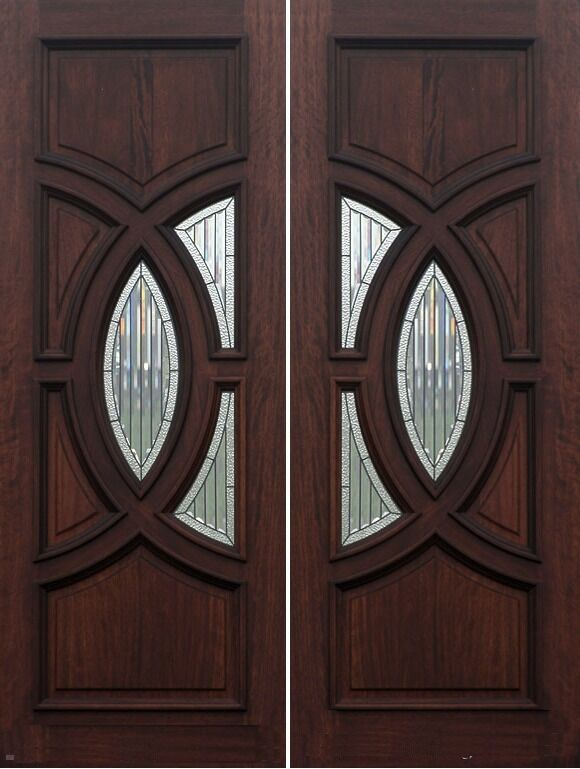External door mahogany timber solid 008liffey carrick for Mahogany exterior door