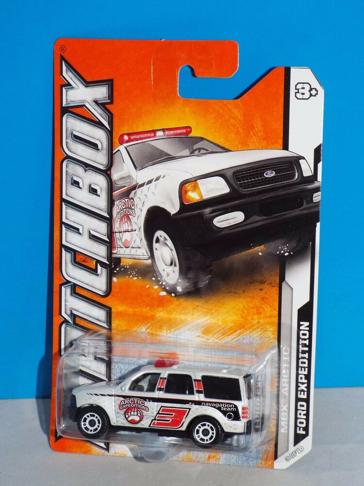Matchbox 2012 Mbx Arctic Series 3 10 Ford Expedition White