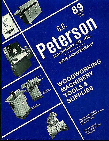1989 g  c  peterson machinery co  minneapolis catalog