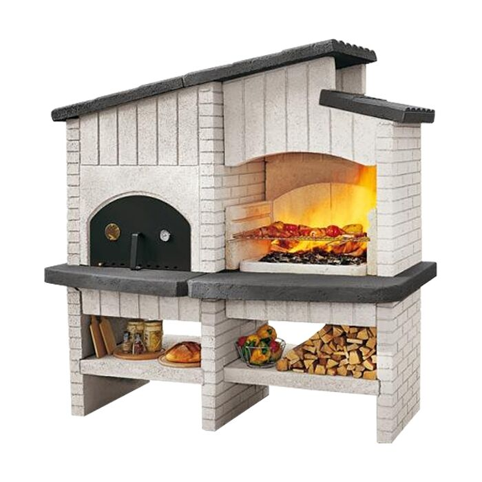 palazzetti gartengrill backofen new zealand grillofen garten grill barbecue ebay. Black Bedroom Furniture Sets. Home Design Ideas