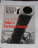 PURNELL'S HISTORY OF THE SECOND WORLD WAR NUMBER 62 HITLER'S FORTRESS EUROPE