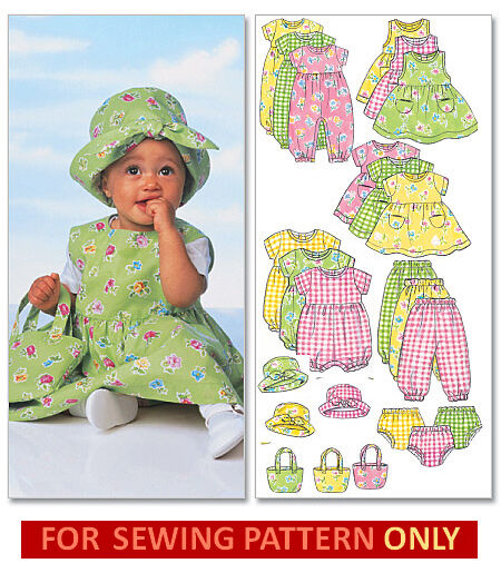 Sewing Pattern Makes Dress Romper Hat Tote Mix Match