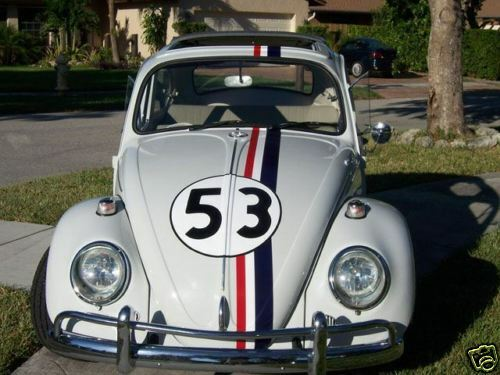 exact herbie  love bug decals vehicle graphics stickers late model kits ebay