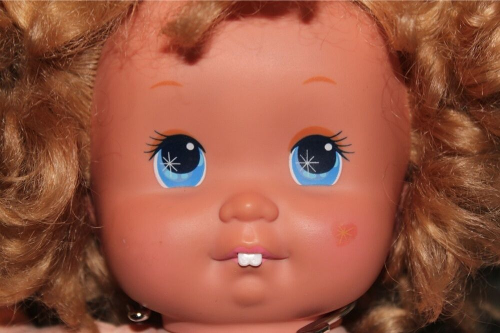 Magic Nursery Baby Doll First Tooth W Teeth 1989