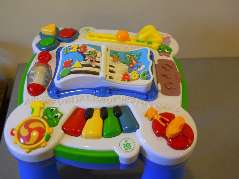 LEAP FROG LEARN & GROOVE ACTIVITY TABLE MUSICAL TODDLER ...