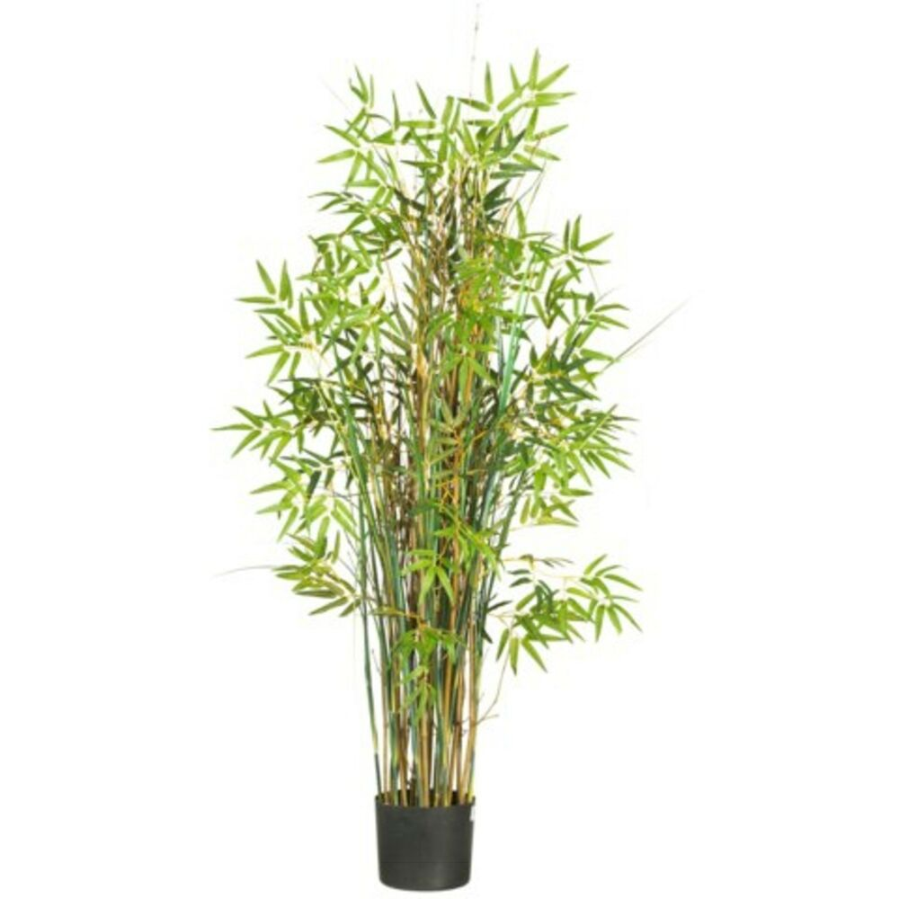 Decorative natural looking artificial asian 5 39 bamboo for Faux bambou plante