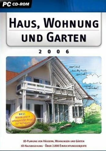 wohnung raum haus und garten planer 3d 2006 brandneu ebay. Black Bedroom Furniture Sets. Home Design Ideas