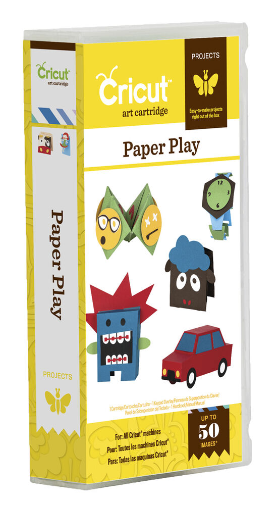 Cricut paper play projects cartridge 2001413 ebay for Cricut crafts to sell