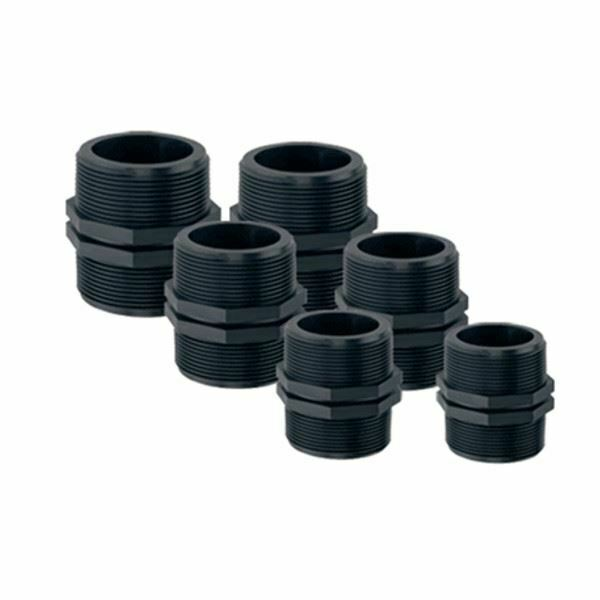 Threaded nipple male bsp hose pipe joiner connector