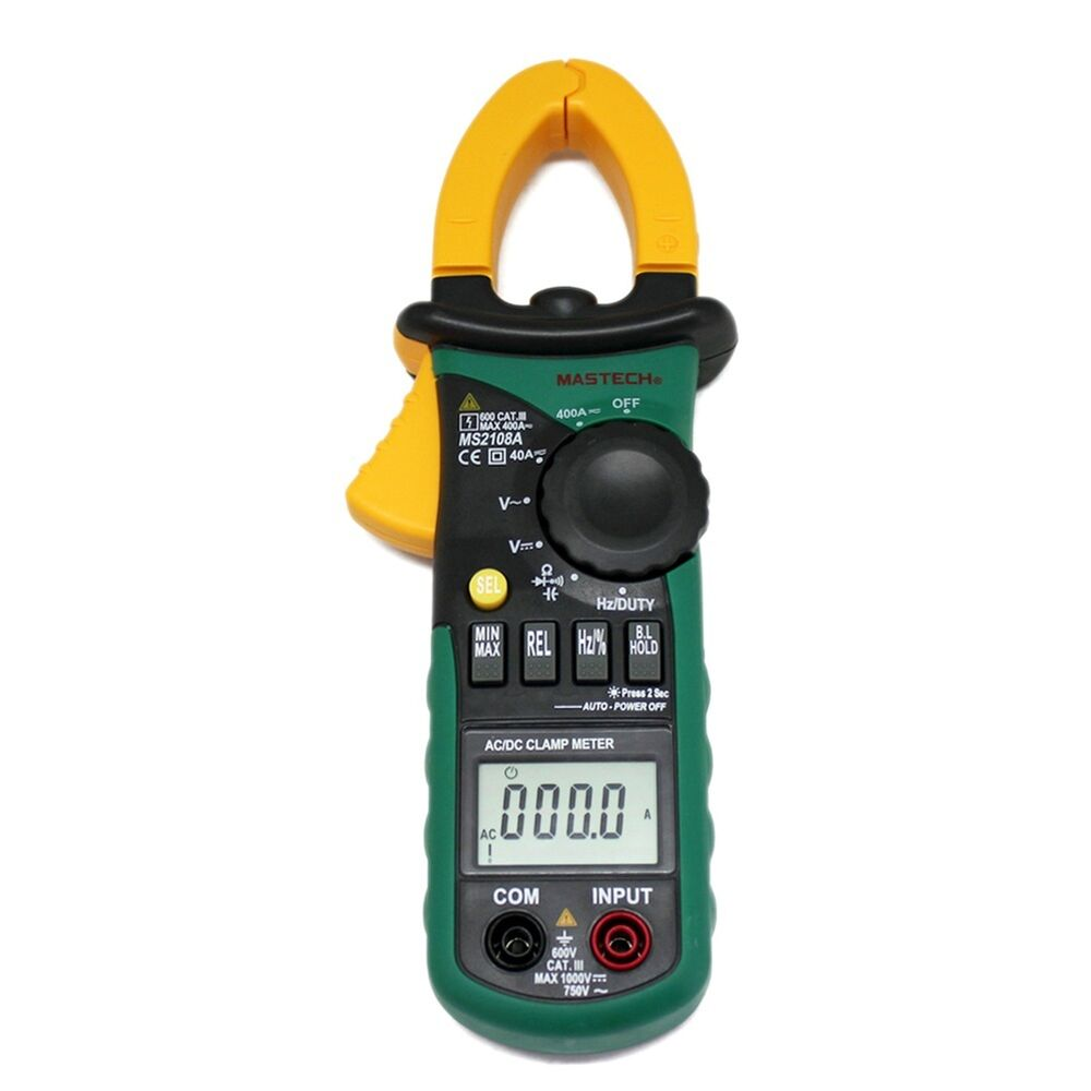 Dc Current Meter : New ms a ac dc current clamp meter backlight frq