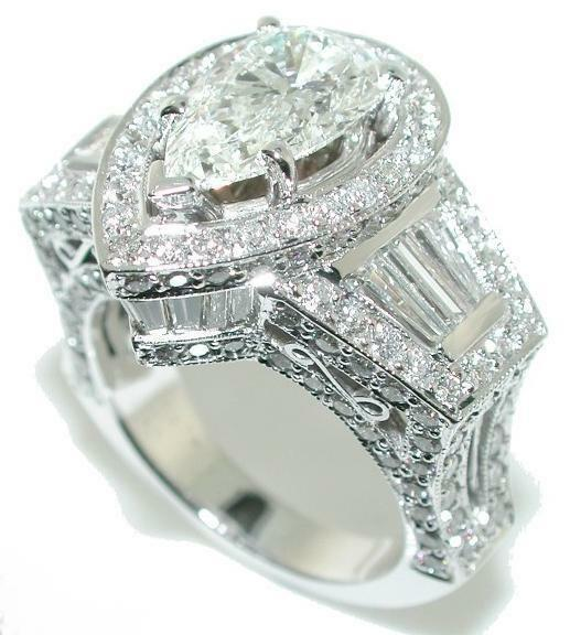 Platinum Diamond Solitaire Ring Ebay